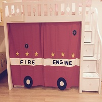 Sliding Curtain | Fire Engine