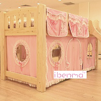 Loft bed curtain | princess