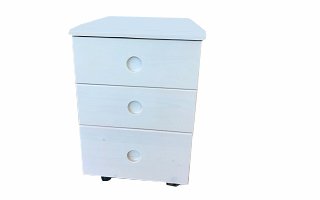 B007 Wheeled Chest of Drawers (3 drawers)
