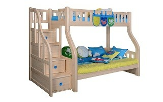 BL303 Bunk Bed with Staircase