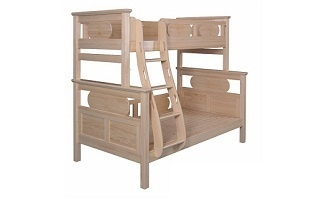 BL06 Convertible Bunk Bed with ergonomic ladder