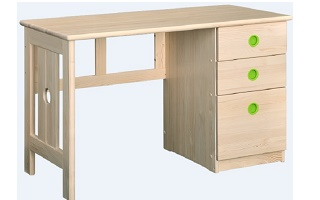 T003 Study Table with drawers