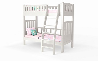 M202A Single | Super Single Bunk Bed with ergonomic ladder