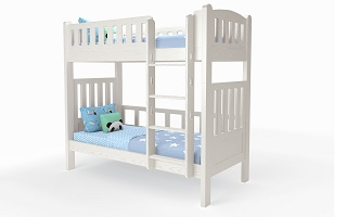 M202A Single | Super Single Modular Bunk Bed with straight ladder