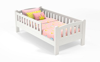 M010 Modular Single | Super Single Bed | Removable Rail