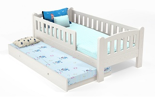 M010 Modular Single | Super Single Bed with Trundle bed