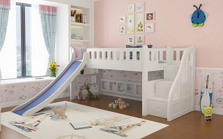 Modular Children loft bed (Low bunk bed)