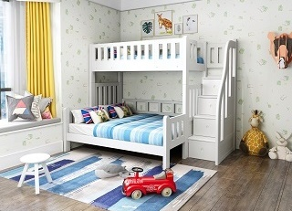 Children Furniture Modular Bunk Bed Loft Bed Kids Modular Bed