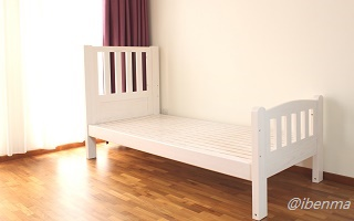 M011 Single Bed (demo only, not sold separately)