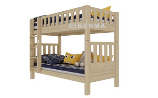SM22 convertible bunk bed (natural color)