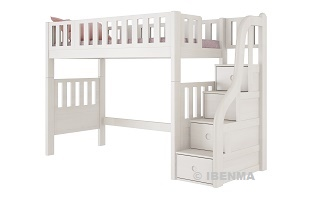 SM21B  Modular Single or /Super Single  Loft Bed