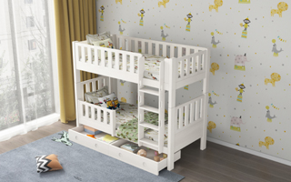 SM22A Single | Super Single Modular Bunk Bed with Storage Drawers