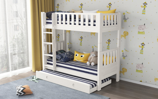 SM202 Modular Single and Super Single Bunk Bed for Space Saving