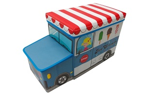 storage stool (ice cream car)