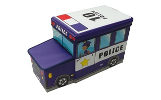 storage stool (police car)