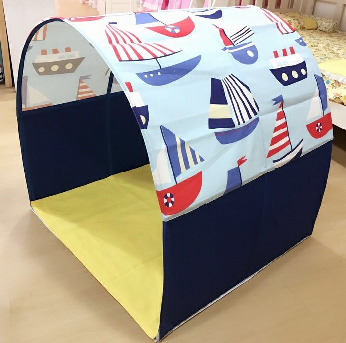Children Bed Canopy | Saling Boat