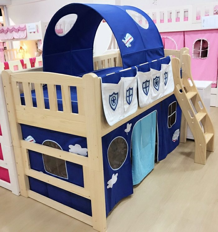 themed loft bed accessories | Police