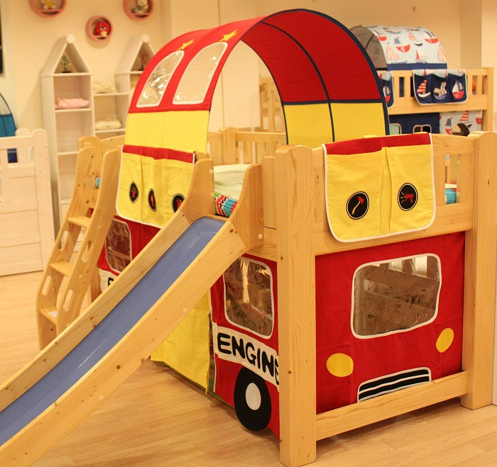 bunk bed curtain, children bunk bed canopy