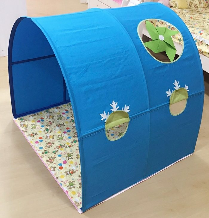 Children Bed Canopy   Windmill   Blue