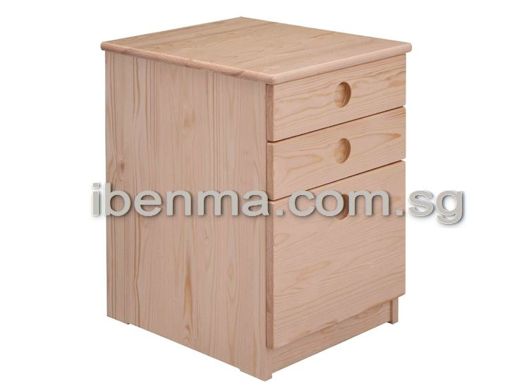 B007 Chest of Drawers (3 drawers)