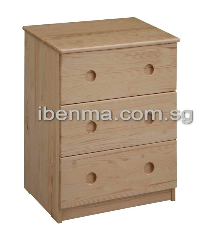 B013 Chest of Drawers (3 Drawers)