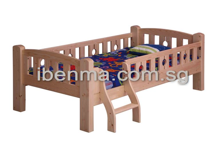 SL10 Single  Bed with fun of ladder