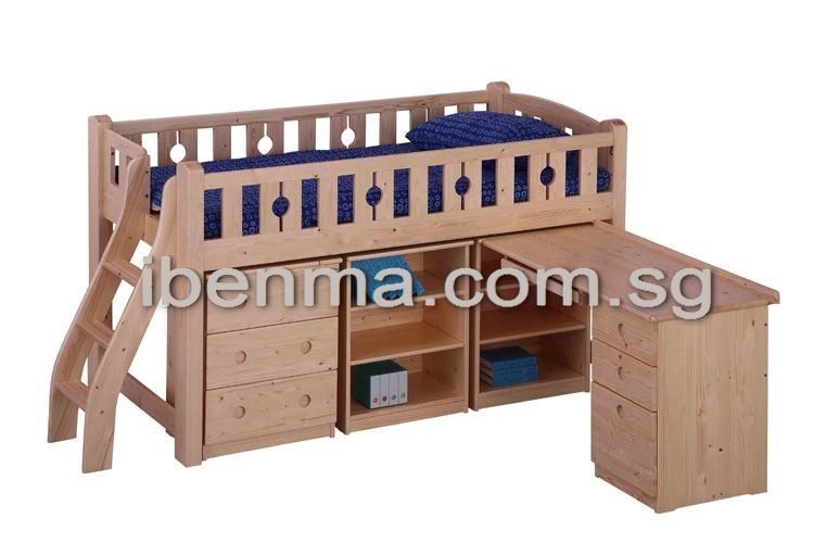 BL13D Loft Bed (medium height)