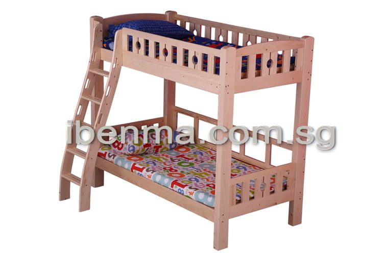 BL02A Bunk Bed with ergonomic ladder