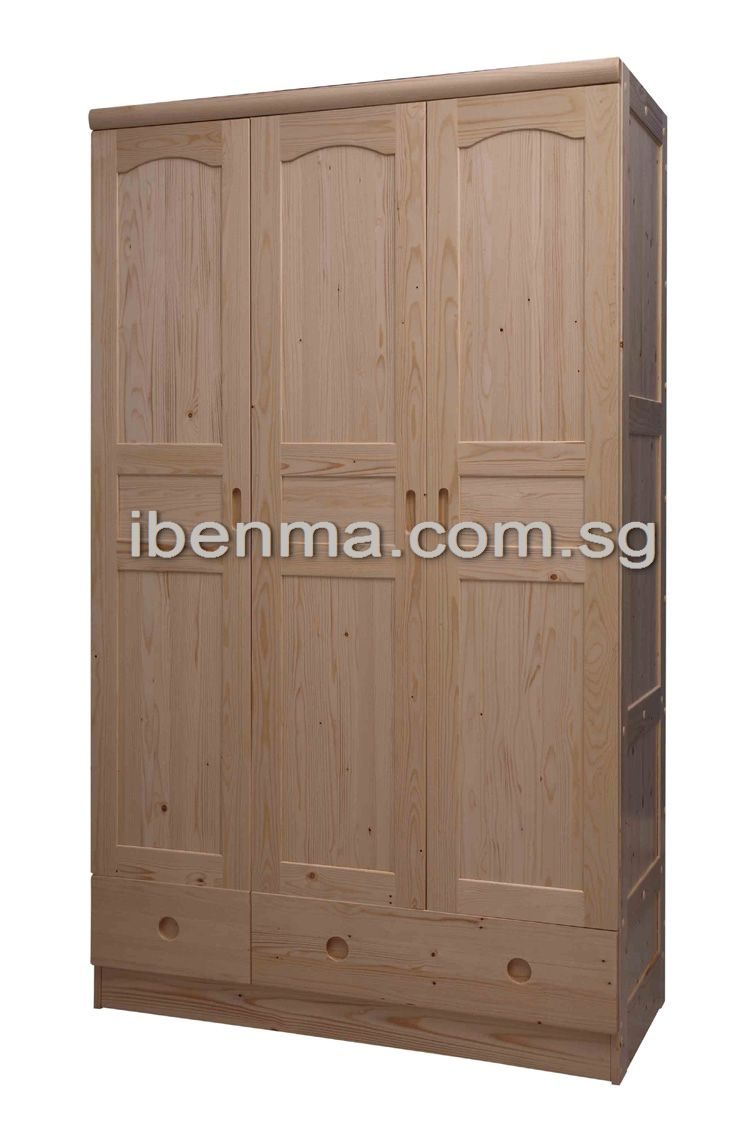 G003 Wardrobe (3 doors 2 drawers)
