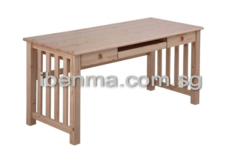 T013 Long Study Table With Two Drawers (L 160cm X D 680cm X H 745cm ) Part 85