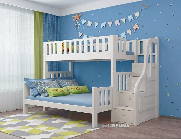 queen bunk bed
