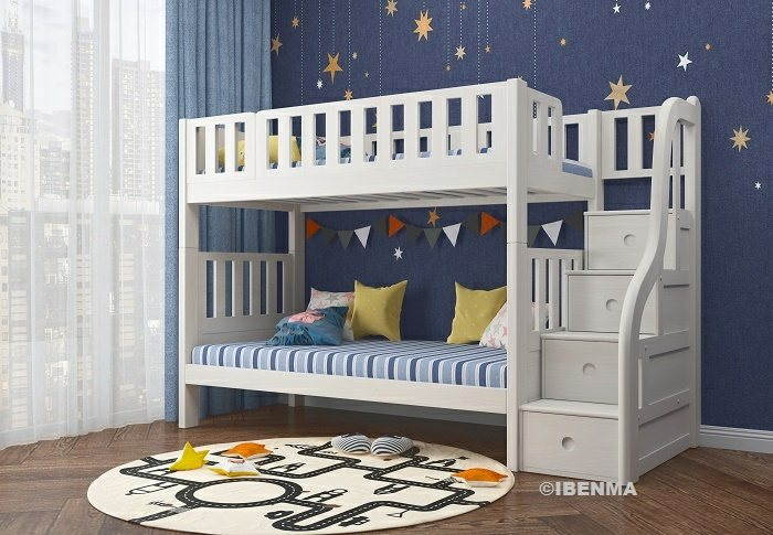modular bunk bed | middle height