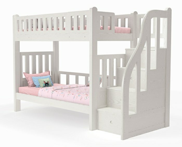 M21 Single | Super Single Modular bunk bed with staircase