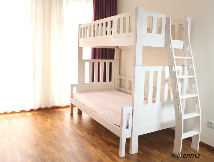 bunk bed with different configuration