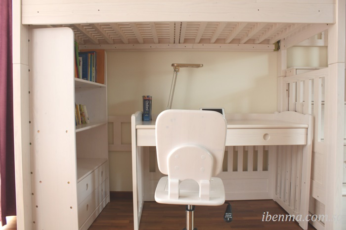 loft bed with study table