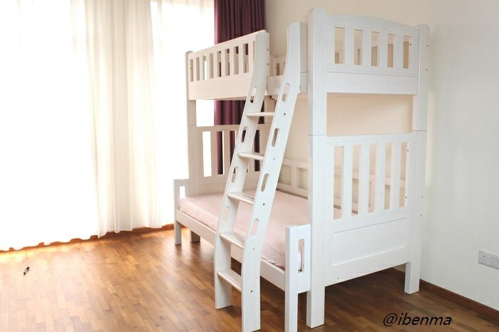 extendable bunk bed