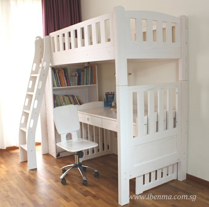loft bed with study desk