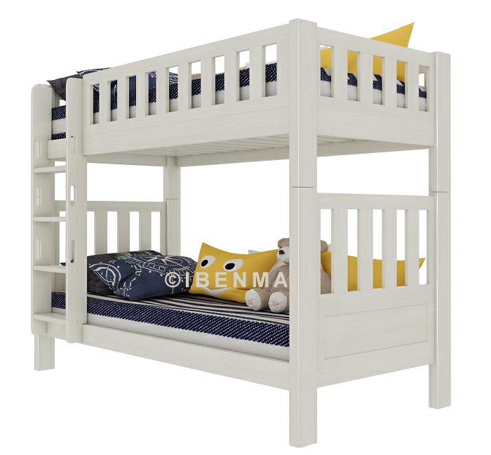 SM22 convertible bunk bed (whitewash color)