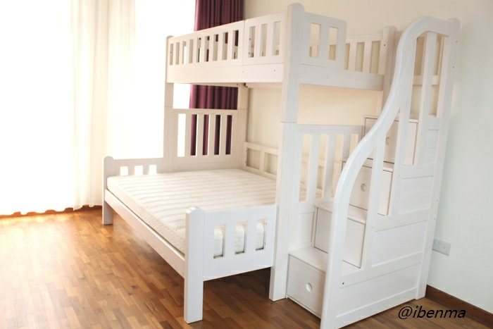easy configured bunk bed as you like