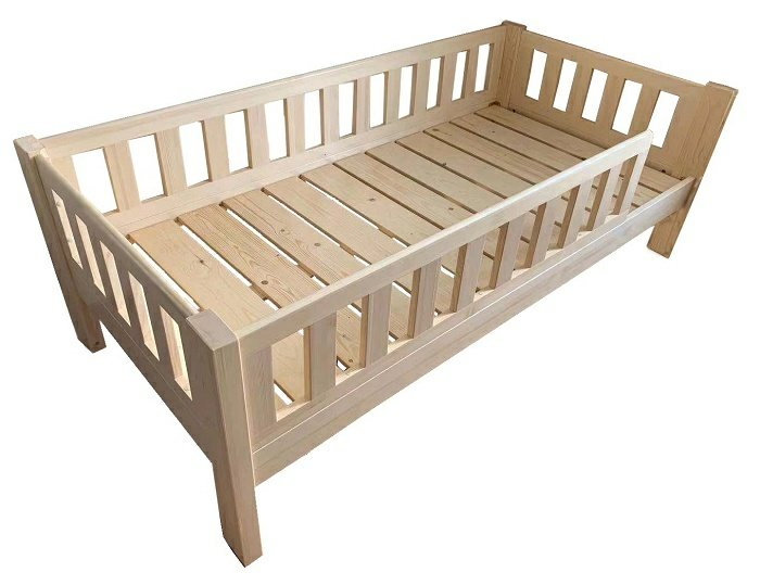 SM009 Modular Toddler Bed | Baby Cot | Standard Size