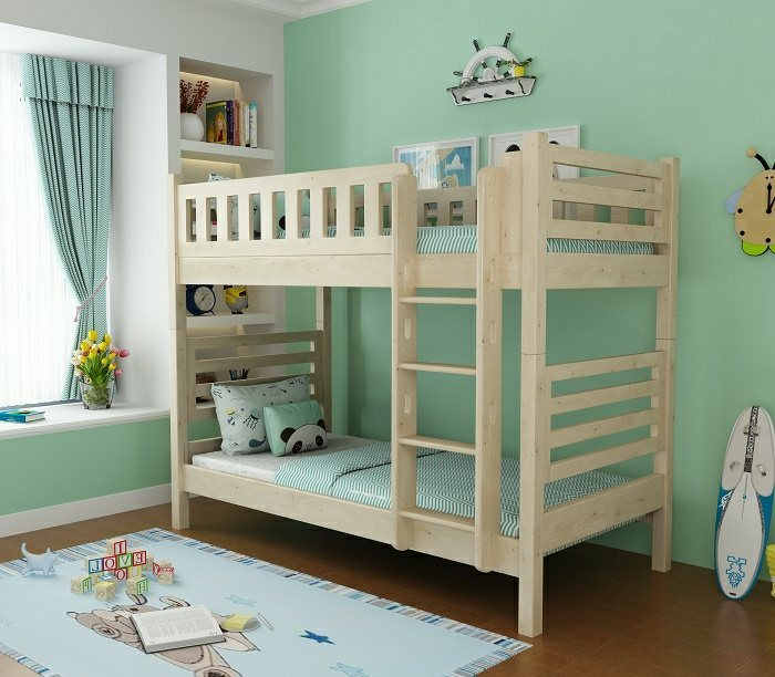 convertible bunk bed | solid wood bunk bed