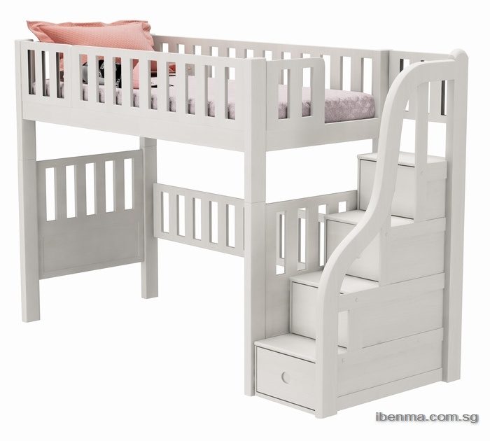 modular bunk bed for 6 years child