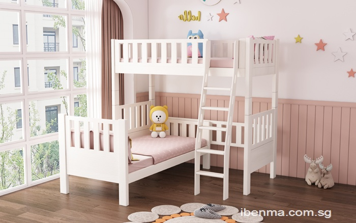 L type bunk bed and Loft  | Space Saving Bed