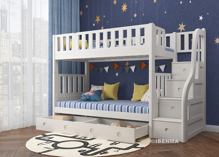 SM21A Modular Single and Super Single Bunk Bed | Storage Bed