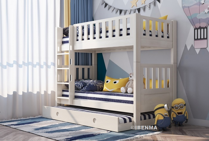 SM22AS  Modular Bunk Bed plus Pullout Bed